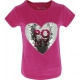 T-shirt Magique Rose Pony Love Equi-Kids sequin Poney Love