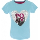 T-shirt Magique Bleu Pony Love Equi-Kids sequin Poney Love