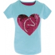 T-shirt Magique bleu Pony Love Equi-Kids sequin Equithème