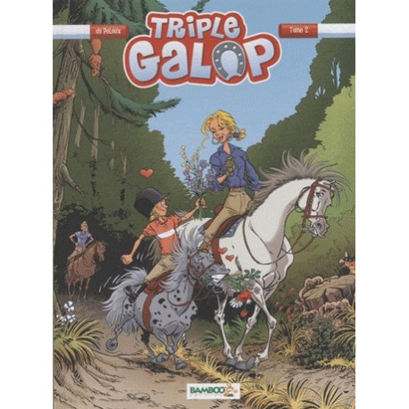 Tome 2 BD Triple Galop