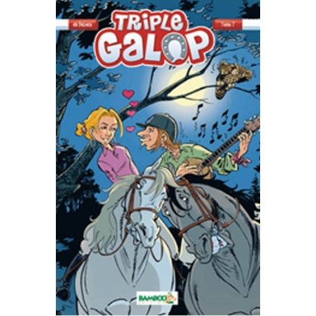 Tome 7 BD Triple Galop