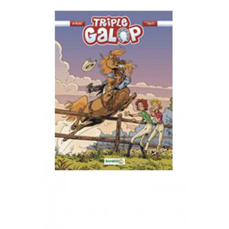 Tome 8 BD Triple Galop