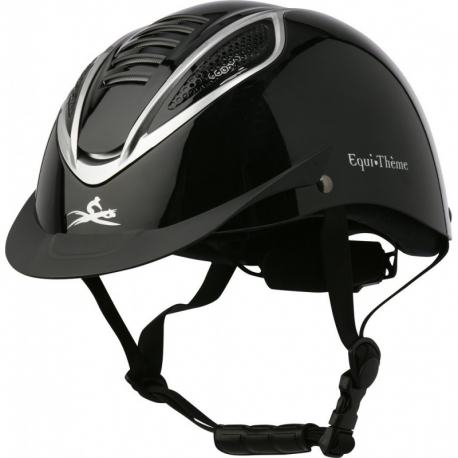 Casque Equithème Chrome