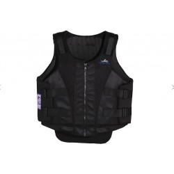 Gilet cross zip